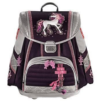 Ранец Step By Step Touch Unicorn фиолетовый / серый