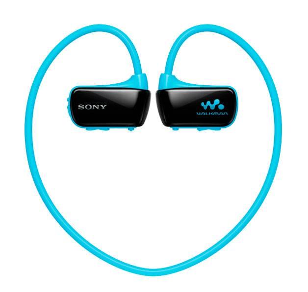mp3-плеер 4Gb Sony NWZ-W273 голубой - фото 1
