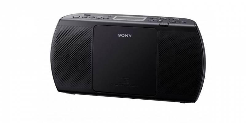 Магнитола Sony ZS-PE40CP черный - фото 1