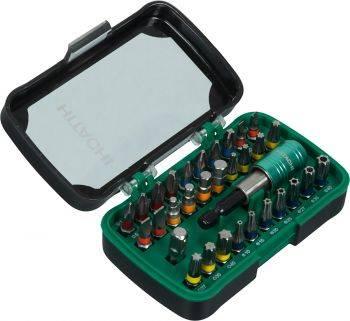 Набор бит Hitachi BIT-BOX (32пред.) для шуруповертов (750363)