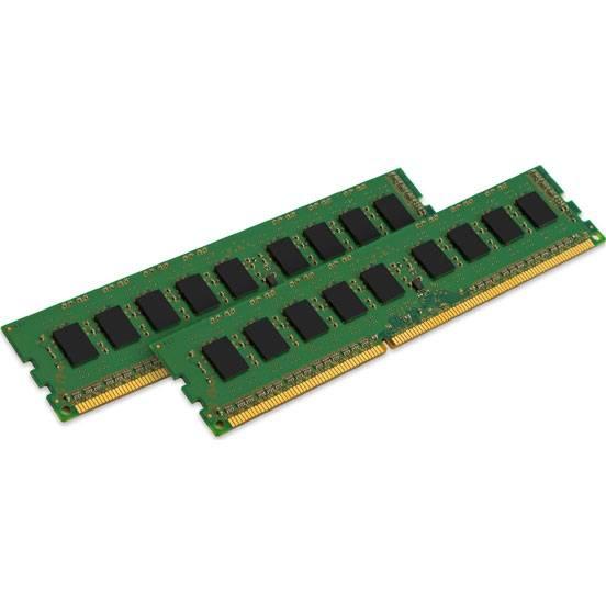 Модуль памяти DIMM DDR3 2x4Gb Kingston KVR16N11S8K2/8 - фото 1