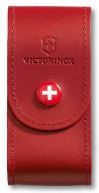 Чехол из натуральной кожи Victorinox Leather Belt Pouch красный (4.0521.1)