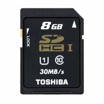 Карта памяти SDHC 8Gb Class10 Toshiba N301 THN-N301R0080E4