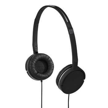 Наушники Hama Joy Slim black 1.5m оголовье/поворотные амбушюры (H-93080) - фото 1