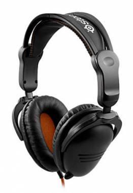 Наушники с микрофоном Steelseries 3H v2 черный