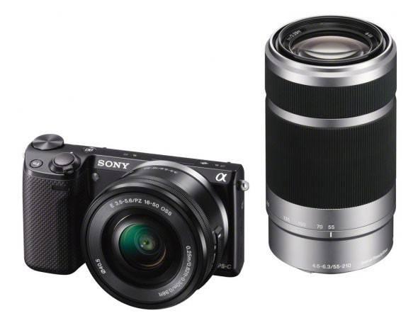 Фотоаппарат Sony Alpha NEX-5TY kit черный - фото 1