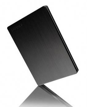 Внешний жесткий диск 1Tb Toshiba HDTD210EK3EA Canvio Slim черный USB 3.0
