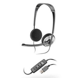 Наушники с микрофоном Plantronics Audio 478 черный