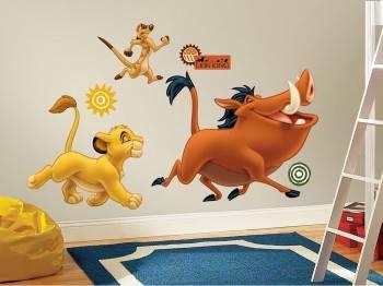 Наклейки Roommates RMK1922GM Disney Король Лев
