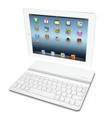 Клавиатура Logitech Ultrathin Keyboard Cover белый (920-004931) - фото 1