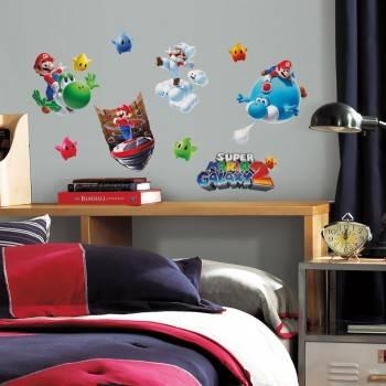 Наклейки Roommates 871SCS Nintendo Супер Марио