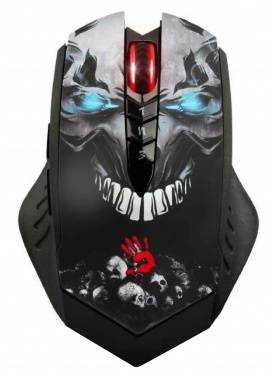 ���� A4 Bloody R8 metal feet Skull design ������