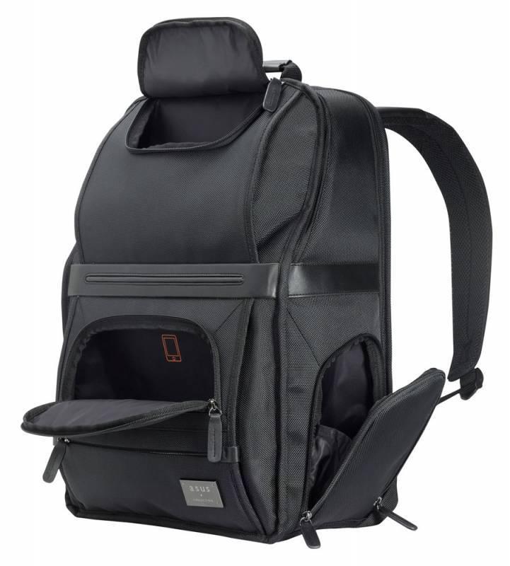 """Рюкзак для ноутбука 16"""" Asus Midas черный - фото 2"""