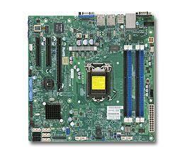 Серверная материнская плата Soc-1150 SuperMicro MBD-X10SLM-F-B mATX bulk