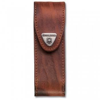 Чехол из натуральной кожи Victorinox Leather Belt Pouch коричневый (4.0548)
