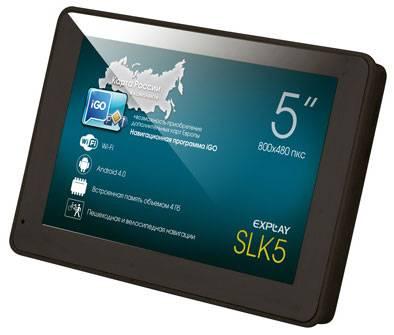 "GPS-навигатор Explay SLK5 5"" черный - фото 1"