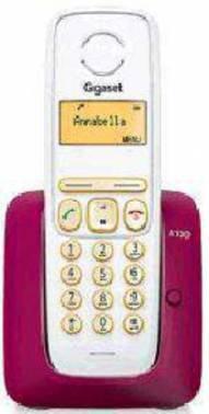 Телефон Gigaset A130 бордовый