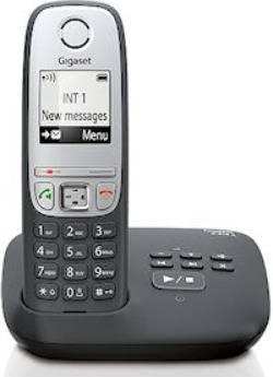 Телефон Gigaset C430 черный / серебристый