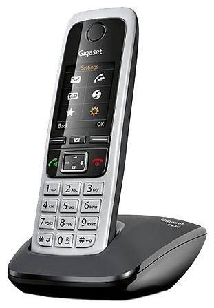 Телефон Gigaset C430 черный/серебристый - фото 2