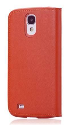 Чехол (флип-кейс) GGMM Kiss-S4 оранжевый - фото 1