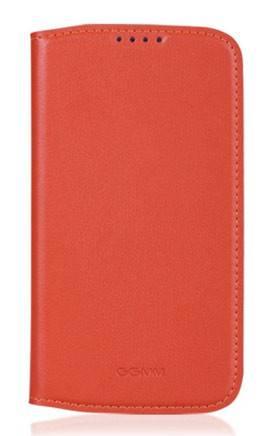 Чехол (флип-кейс) GGMM Kiss-S4 оранжевый - фото 2