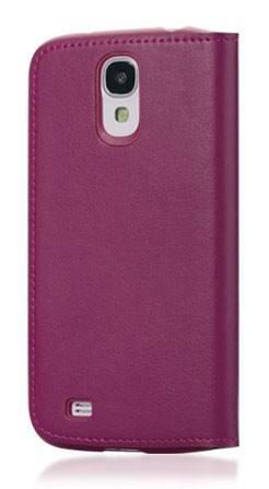 Чехол (флип-кейс) GGMM Kiss-S4, SX02105 пурпурный - фото 1