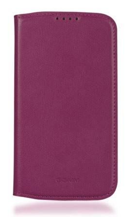 Чехол (флип-кейс) GGMM Kiss-S4, SX02105 пурпурный - фото 2