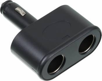 Разветвитель розетки прикуривателя Wiiix TR-01 черный