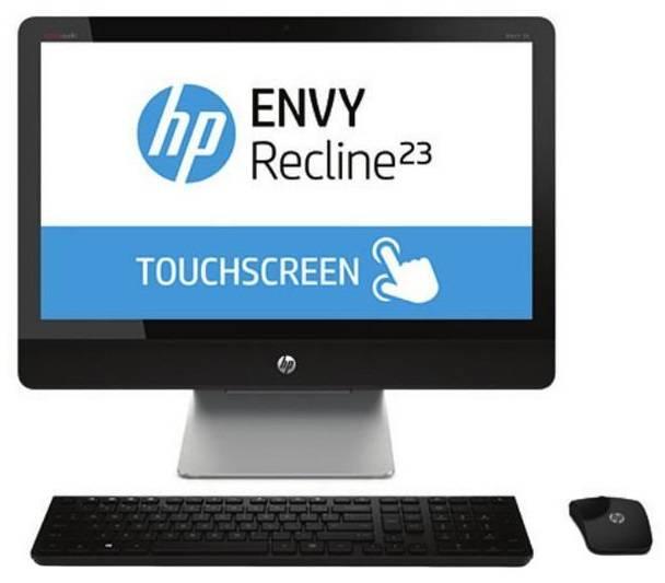 """Моноблок 23"""" HP Envy Recline 23-k100er черный/серебристый - фото 1"""