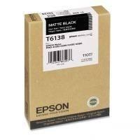 Картридж Epson T6138 черный матовый (C13T613800)