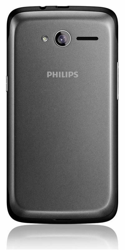 Смартфон Philips Xenium W3568 4ГБ черный/серый - фото 4