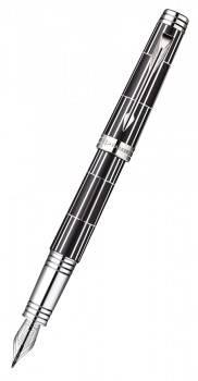 Ручка перьевая Parker Premier Luxury F565 Black CT (1876380)