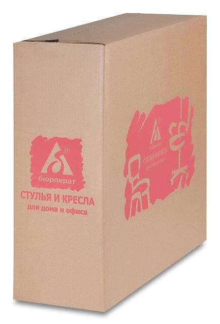 Кресло Бюрократ CH-200NX красный - фото 7