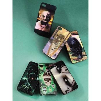 Чехол (клип-кейс) Hama Dark Skull черный/рисунок - фото 3