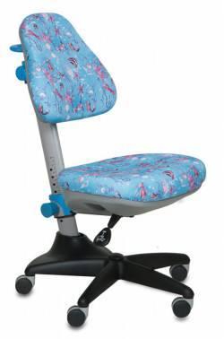 Кресло детское Бюрократ KD-2 / BL / aqua голубой