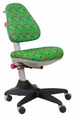 Кресло детское Бюрократ KD-2 зеленый (KD-2/R/Race-Gr)