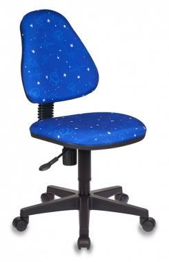 Кресло детское Бюрократ KD-4 / Cosmos синий