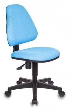 Кресло детское Бюрократ KD-4 / TW-55 голубой