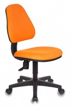 Кресло детское Бюрократ KD-4 / TW-96-1 оранжевый