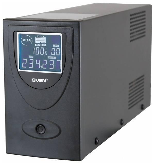 ИБП Sven Pro 650 USB LCD - фото 1