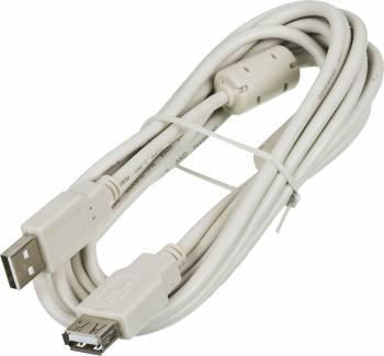 Kабель USB2.0 Ningbo A-A (m / f) 3m удлиннитель с ферритовыми кольцами Blister box