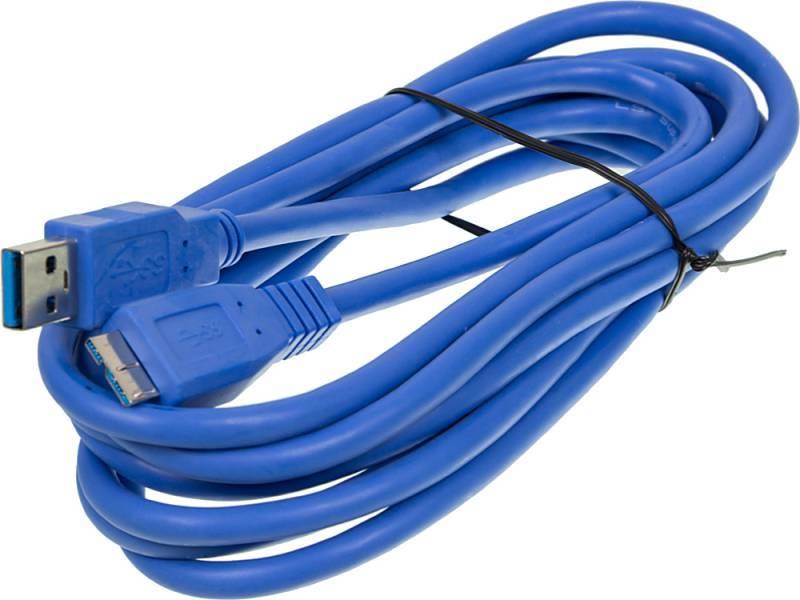 Кабель Ningbo micro USB B (m)-USB A(m) 3м - фото 1