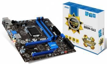 ����������� ����� Soc-1150 MSI B85M-G43 mATX