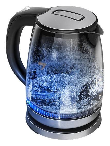 Чайник электрический Redmond RK-G127 черный - фото 1