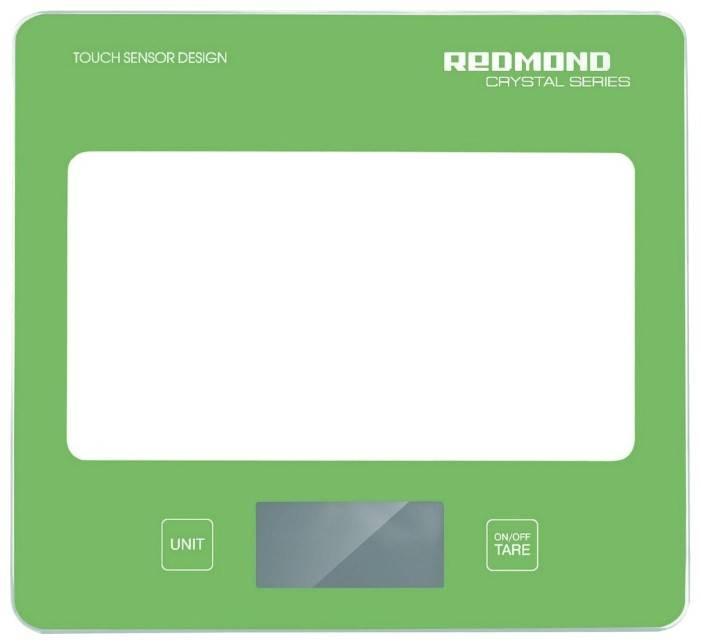 Кухонные весы Redmond RS-724 зеленый - фото 1