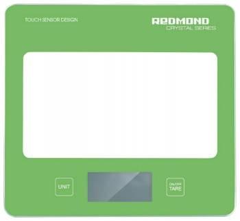 Кухонные весы Redmond RS-724 зеленый (RS-724 (ЗЕЛЕНЫЙ))