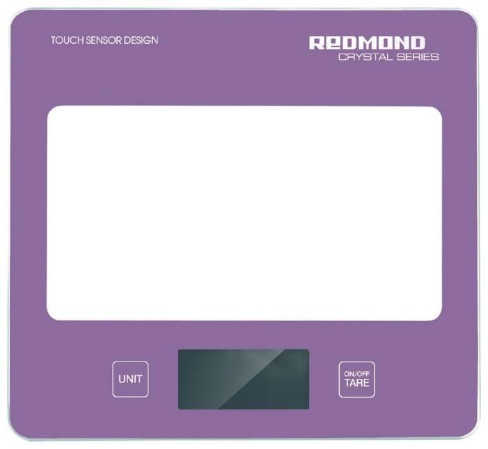 Кухонные весы Redmond RS-724 розовый - фото 1