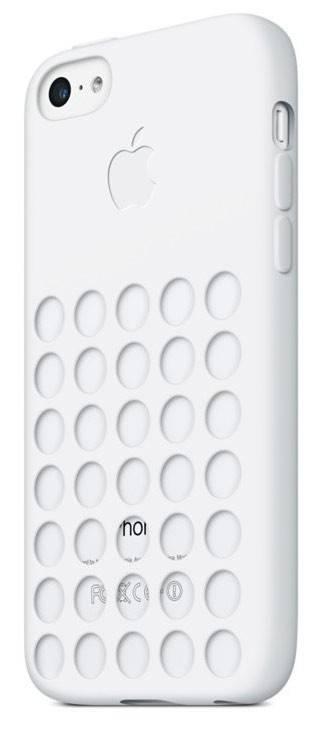Чехол Apple MF039ZM/A, для Apple iPhone 5c, белый - фото 2