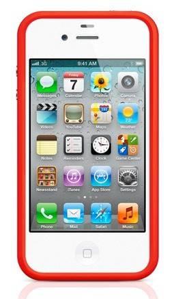 Бампер Apple MD503ZM/B красный - фото 1