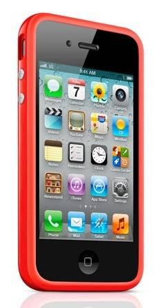 Бампер Apple MD503ZM/B красный - фото 2